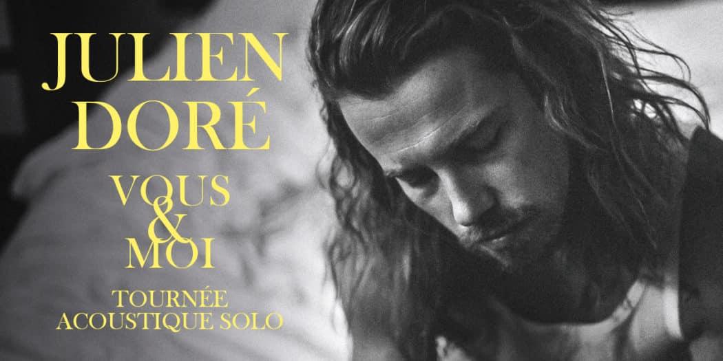 Julien Doré vous invite à monter sur scène avec lui